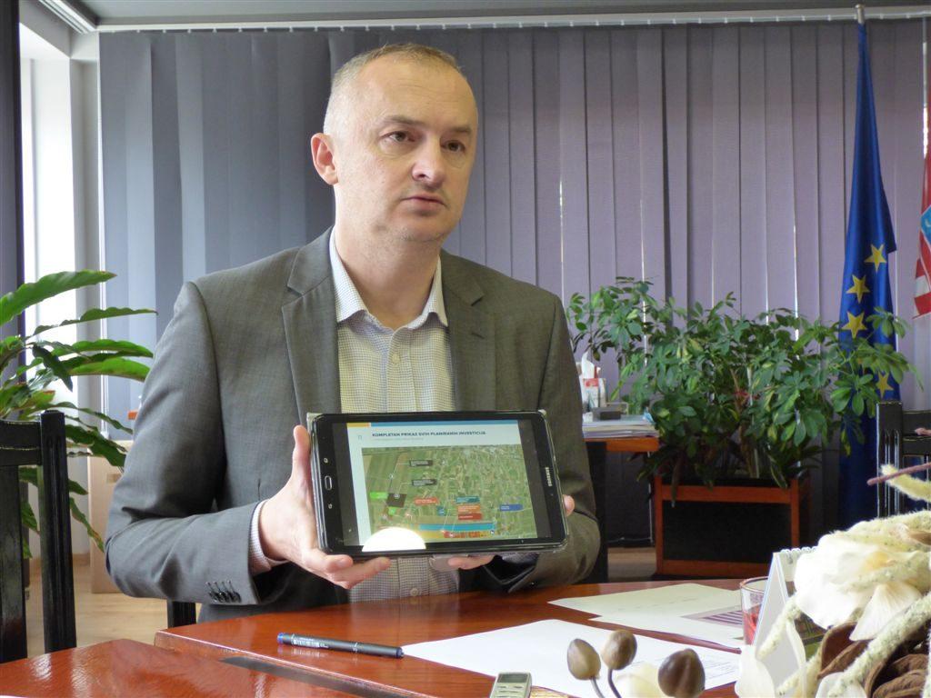 U kapitalne projekte u gradu  trenutno se ulaže 16,8 milijuna kuna